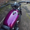 Kuna customs XS650 candy paintwork