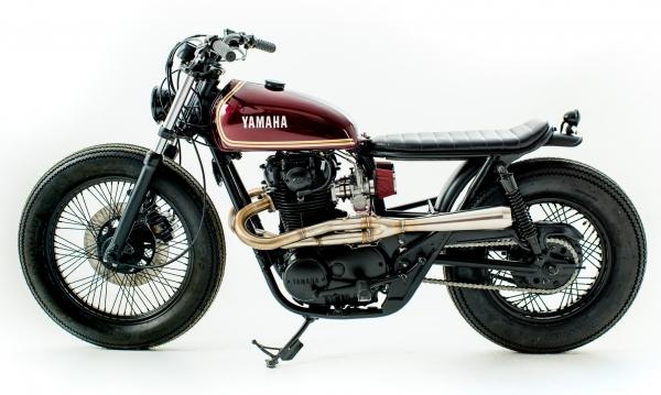 Kuna customs xs650 brat style