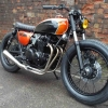 Kuna customs CB550K tracker