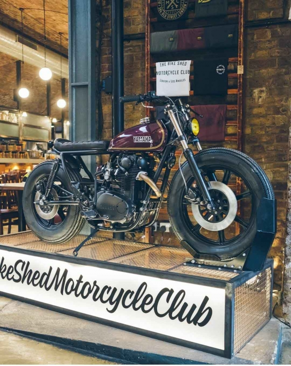Bikeshed London display 2020
