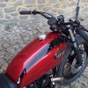 Bratstyle TX650 candy red paintwork