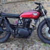 Yamaha TX650 brat style kuna customs