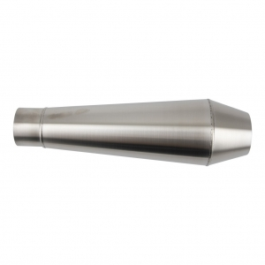 stainless steel shorty silencer