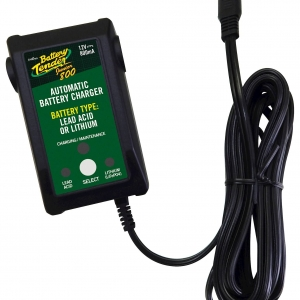 Battery Tender Junior 800mA 12V Wall plug Lead Acid & Lithium Battery Charger